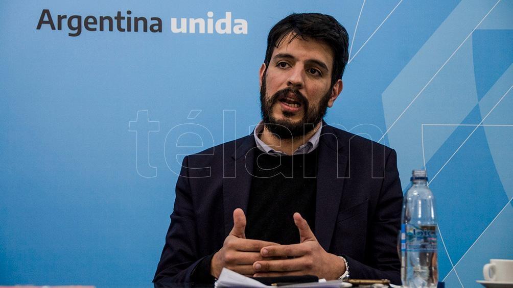 Pablo Gilres es subsecretario de Relaciones Municipales.