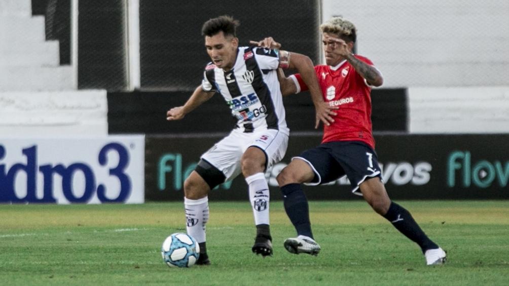 El árbitro fue Pablo Dóvalo.