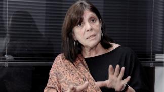 Teresa García, ministra de Gobierno.