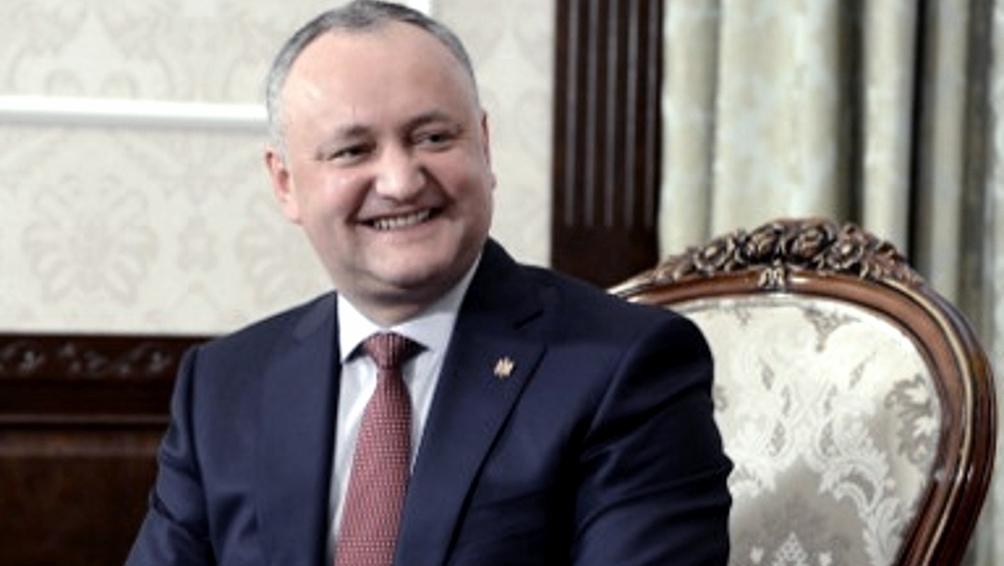 Igor Dodon, expresidente y uno de los líderes del PSRM para estas elecciones