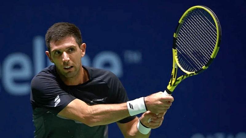 Delbonis se despidió en primera ronda del Masters de París
