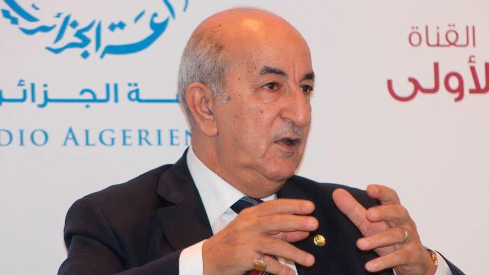 El presidente argelino convocó a elecciones legislativas anticipadas