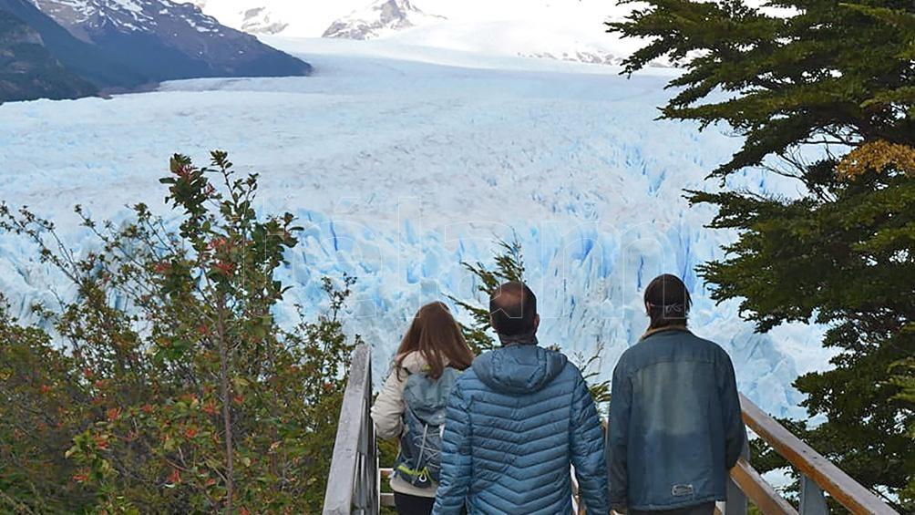 La imponencia del glaciar Perito Moreno.