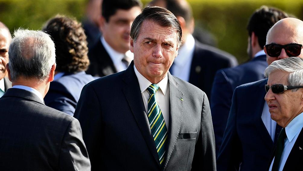 Bolsonaro habló por una transmisión por Facebook y no comentó las elecciones estadounidenses y sí las municipales del domingo 15 de noviembre.