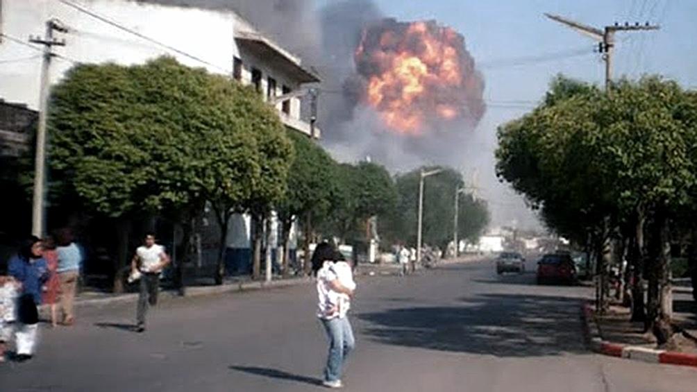 La explosión dejó un saldo de 7 muertos y más  de 300 heridos.