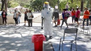 Coronavirus: 23 personas fallecidas y 1.385 nuevos contagios en Argentina
