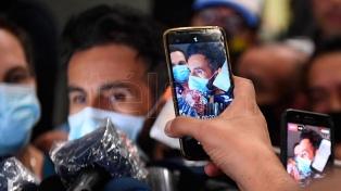 """El médico de Maradona: """"Se pudo evacuar de manera exitosa el hematoma"""""""