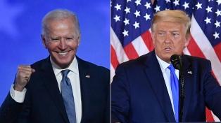 Biden suma 306 electores y Trump 232