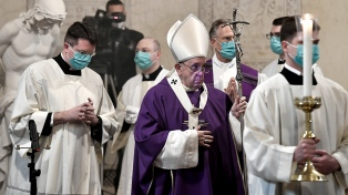 El Papa vuelve a las audiencias virtuales a raíz de la nueva ola de coronavirus
