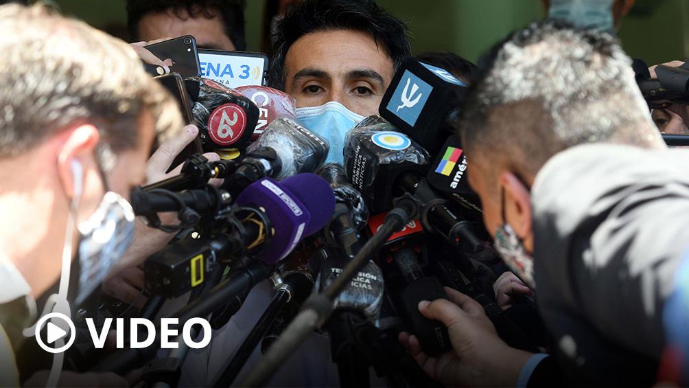 Diego Maradona evoluciona de su cirugía