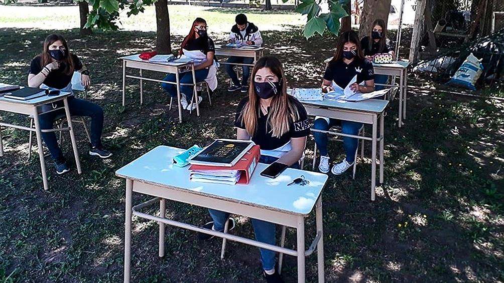 Las escuelas rurales reciben entre 10 y 150 alumnos que, muchas veces, comparten la sala en un plurigrado