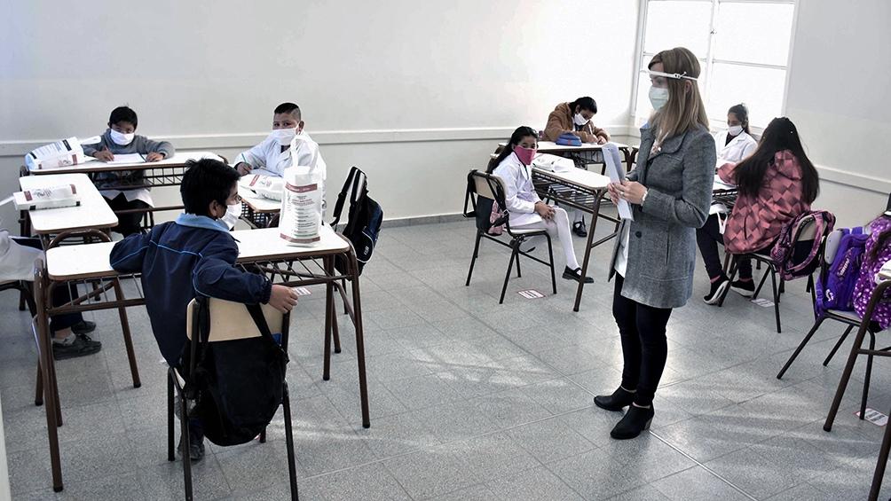 """""""Más de un 2% del total de los alumnos del país, que son aproximadamente 2 millones y medio, regresaron a las aulas de forma presencial"""""""