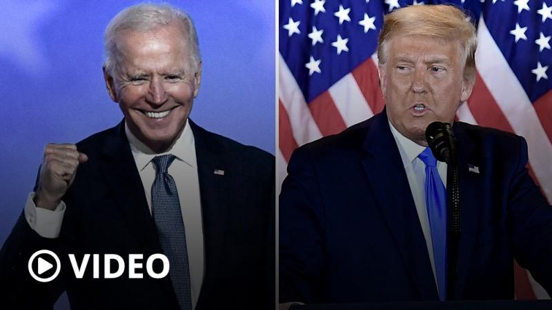 Biden cerca de la Casa Blanca y Trump con tres reveses en su ofensiva legal