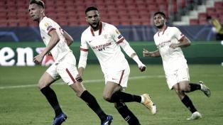 Sevilla, en un festival de goles, derrotó al Krasnodar