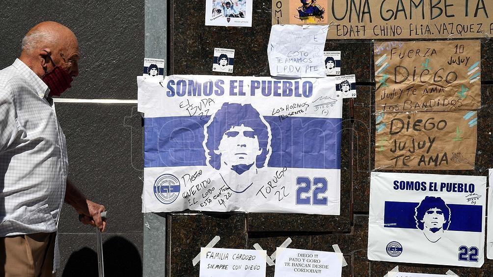 Maradona murió de un