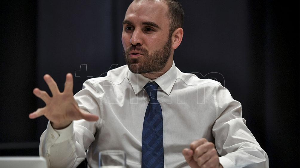 El ministro Martín Guzmán nominado por Davos como uno de los líderes del año.
