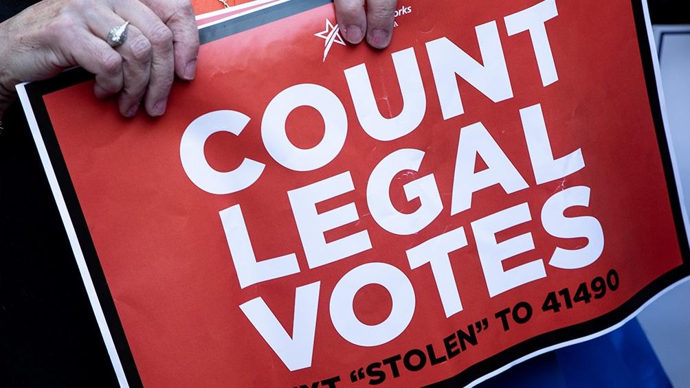 Trump está disputando los resultados de las elecciones y ha iniciado recuentos y auditorías en varios estados