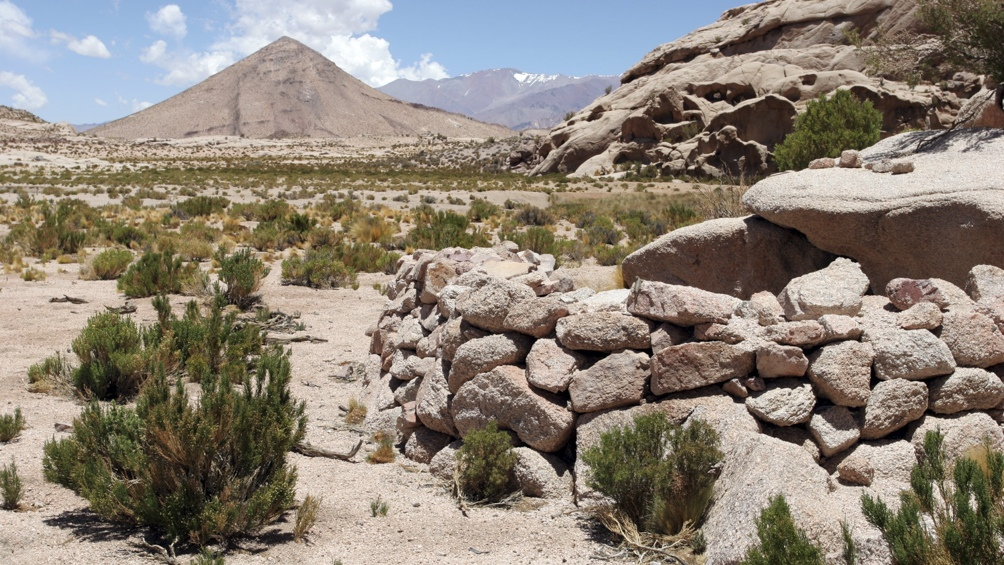 San Guillermo concilia la porción más austral de la Puna con los Altos Andes.