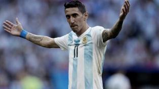 Di María y Paredes se sumaron a la concentración del seleccionado argentino en Ezeiza