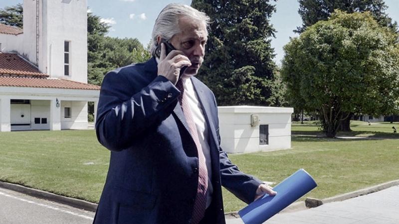 El Presidente dio negativo y terminó el aislamiento preventivo