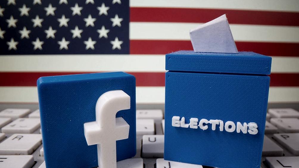 """Facebook anunció la extensión temporal de una serie de medidas """"para proteger el proceso electoral""""."""