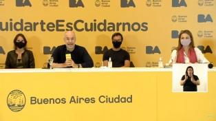 Larreta defendió el operativo de la Policía de la Ciudad durante el velatorio de Maradona