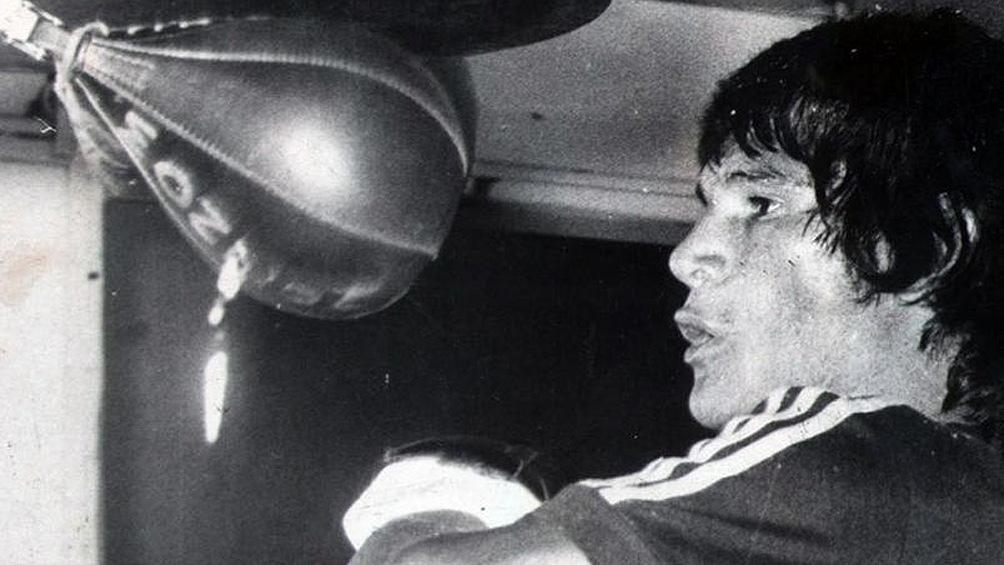 Monzón, a 50 años de una de las epopeyas del boxeo argentino (foto archivo)
