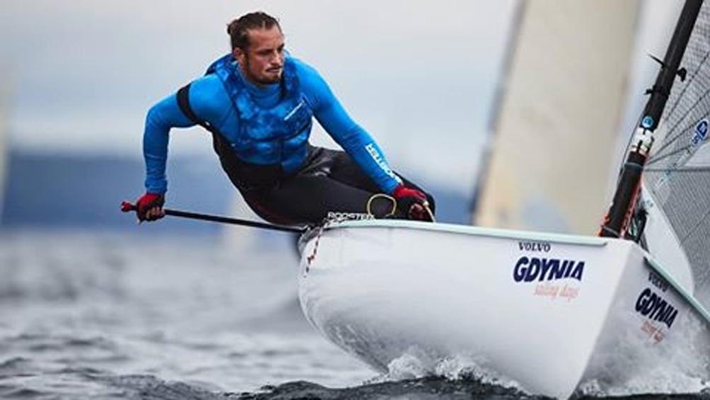 Facundo Olezza, uno de los velistas olímpicos argentinos con chances de ganar una medalla
