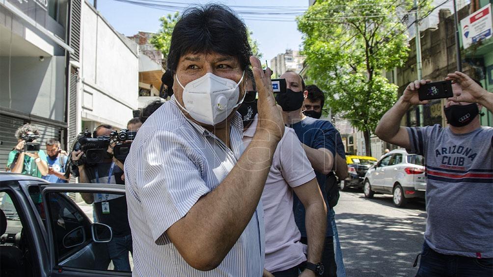 Morales tiene previsto emprender la vuelta a Bolivia el lunes.