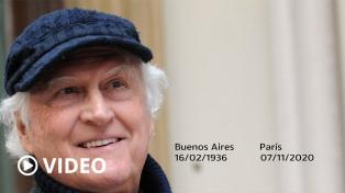 Falleció Pino Solanas en París, tras contagiarse de coronavirus