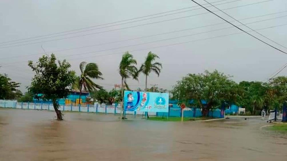 En noviembre la isla fue azotada por la tormenta tropical Eta.