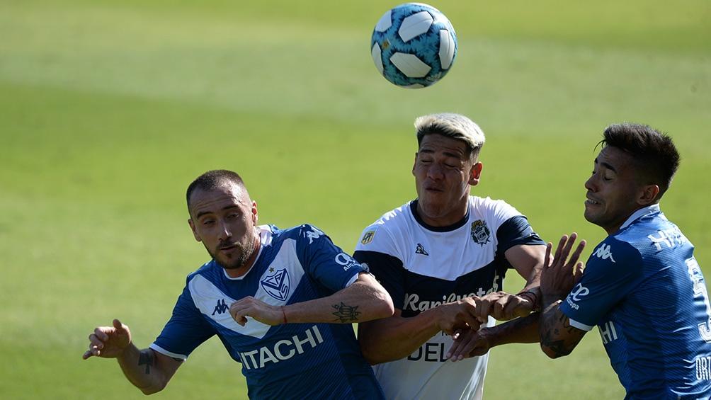 Gimbnasia y Vélez igualaron 2 a 2 en la ida de la hoy Copa Diego Maradona