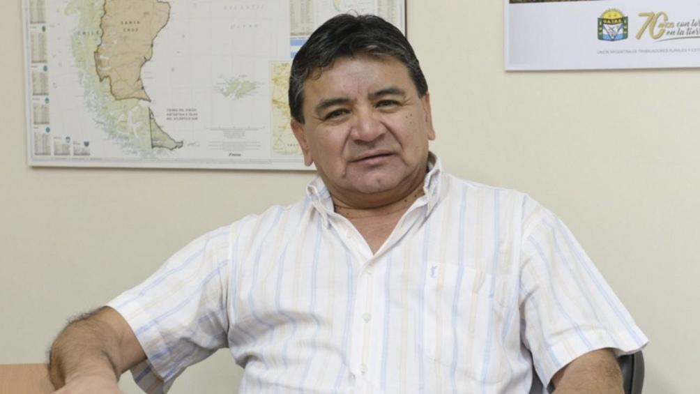 El máximo referente de los trabajadores rurales realizó declaraciones a Télam.