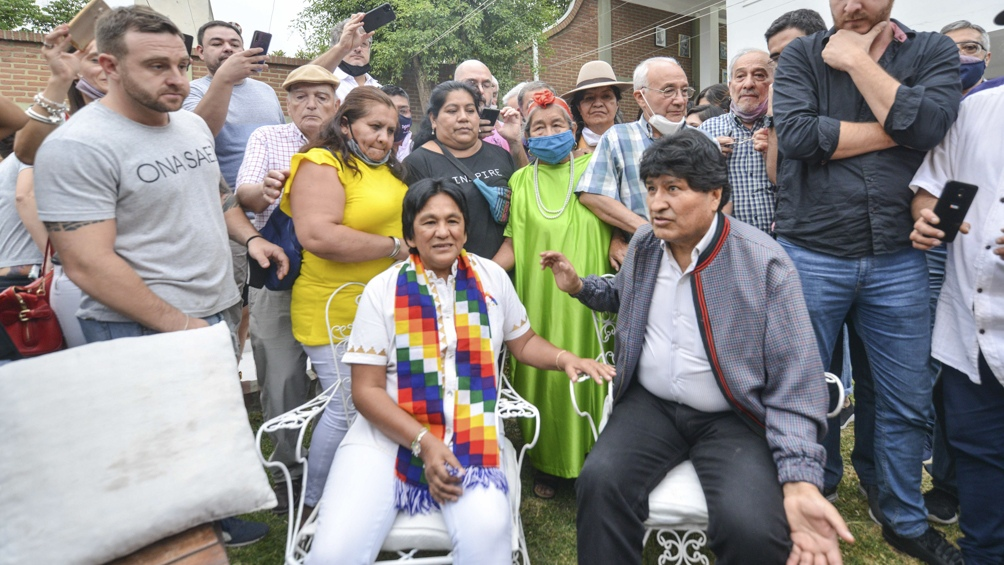 """""""Comparto tu lucha, tarde o temprano llega la justicia"""", expresó Morales"""