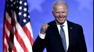 China felicitó a Biden