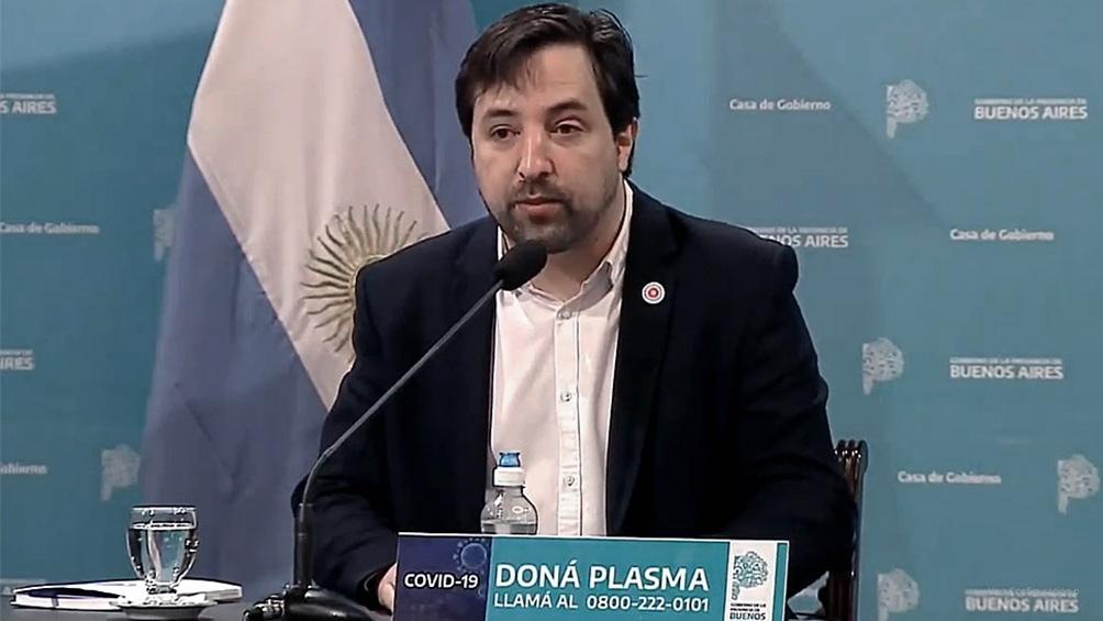 El viceministro de Salud de la provincia de Buenos Aires, Nicolás Kreplak, informó que la primera etapa de vacunación contra el coronavirus comenzará la próxima semana.