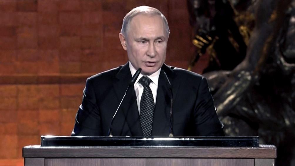 """El presidente de la Federación Rusa, Vladimir Putin aseguró que la vacuna Sputnik es """"segura y eficaz"""""""