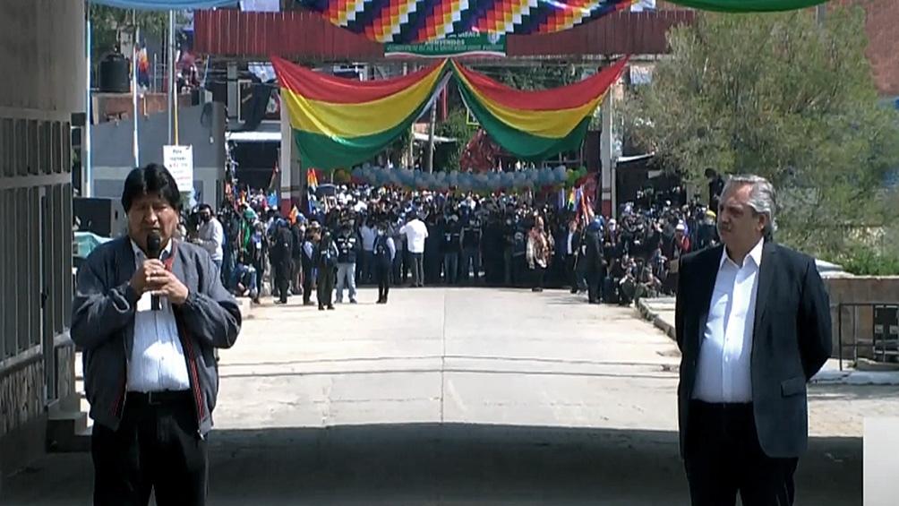 Alberto Fernández despidió a Evo Morales que regresa a Bolivia