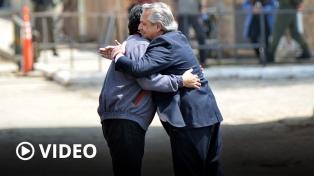 """El Presidente despidió a Evo Morales y revindicó """"la Patria Grande que quiere crecer"""""""