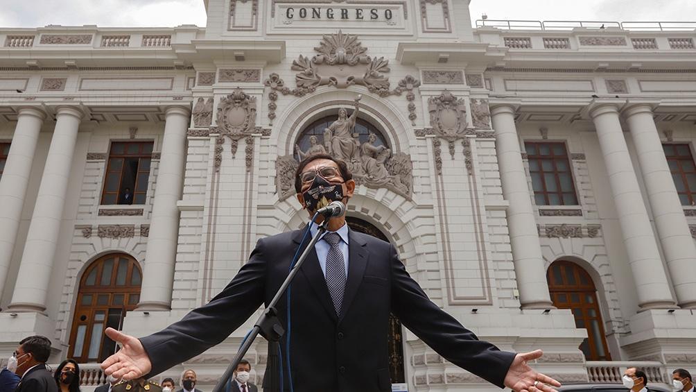 El mandatario fue destituido por el Congreso peruano.