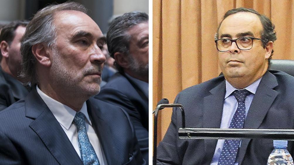 Bruglia y Bertuzzi dos de los tres jueces cuestionados