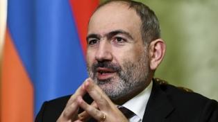 El primer ministro Nikol Pashinian confirmó para fin de mes su anunciada renuncia