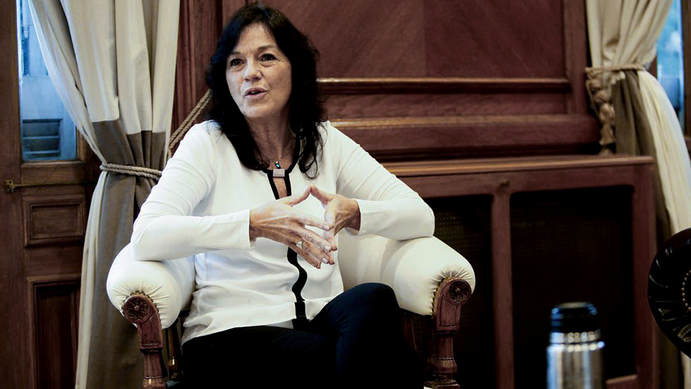 """Vilma Ibarra: El proyecto """"propone un esquema con parámetros sanitarios muy precisos"""""""