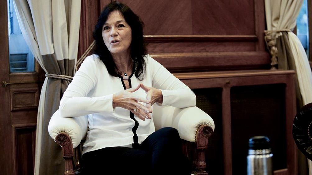 """Vilma Ibarra: """"No podemos mirar para otro lado y decir que el problema no existe""""."""