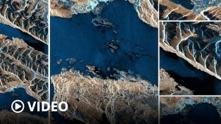 Difundieron las primeras imágenes tomadas por el Saocom 1B