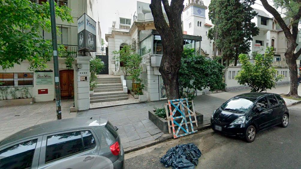 El hecho ocurrió en el barrio porteño de Palermo.