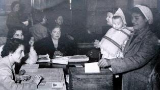 Repercusiones por el 74º aniversario de la ley que sumó el voto femenino en la Argentina