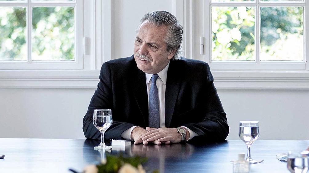 El Presidente confirmó que la Argentina  a partir de marzo podrá contar con la vacuna de AstraZéneca Oxford.