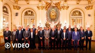 """El Presidente valoró como """"un paso más"""" hacia el federalismo la ley de capitales alternas"""