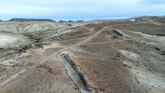 Durante el período Cretácico, el territorio patagónico fue sepultado con ceniza y lava.